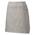"Nancy Lopez 18"" Pully Golf Skort - Concrete"