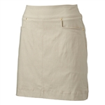 "Nancy Lopez 18"" Pully Golf Skort - Khaki"