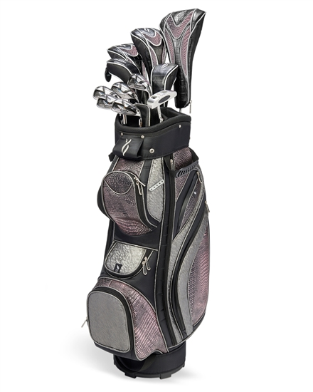 Nancy Lopez Zenith Black/Copper Golf Clubs & Bag