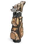 Nancy Lopez Zenith Bronze/Black Golf Clubs & Bag