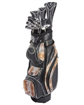 Nancy Lopez Zenith Black/Bronze Golf Clubs & Bag