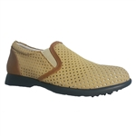 Sandbaggers Ruby Golf Shoe - Taupe