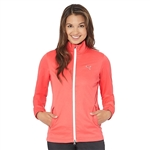 Puma Women's Golf Rain Jacket - Cayenne