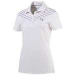 Puma Women's Chevron Polo - White