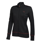Puma Women's PWR Warm Golf Jacket- Black