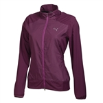 Puma Women's Tech Wind Jacket- Italian Plum