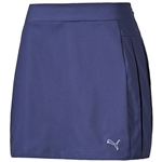 Puma Women's Pleated Golf Skirt US- Medieval Blue