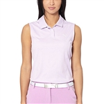Puma Pounce Sleeveless Golf Polo - Orchid Bloom