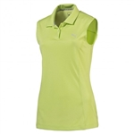 Puma Pounce Sleeveless Golf Polo Sharp Green