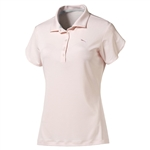 Puma Women's Petal Polo Golf Polo Pink Dogwood