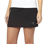 Puma Solid Knit Golf Skort - Black