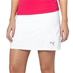 Puma Solid Knit Skort - Bright White
