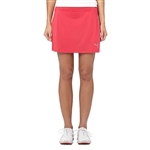 Puma Solid Knit Skirt -  Rose Red