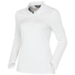 Sunice Kaylee Coollite Long Sleeve Polo - White