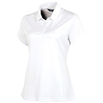 Sunice Denise Body Mapping Short Sleeve Polo - Pure White