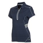 Sunice Scarlett Coollite Short Sleeve Polo - Midnight
