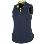 Sunice Sydney Coollite Sleeveless Polo - Midnight