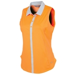 Sunice Sydney Coollite Sleeveless Polo - Heat Wave