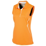 Sunice Erin Coollite Sleeveless Polo w/ Mesh - Heat Wave