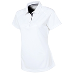 Sunice Jill Coollite Essentials Golf Polo - Pure White