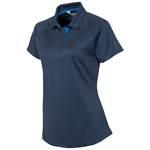 Sunice Jill Coollite Essentials Golf Polo - Midnight Blue