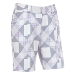 Sunice Samantha Stretch Golf Skort - Iris Plaid