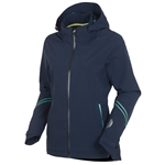 Sunice Robin Zephal/ST Waterproof Jacket w/ Hood - Midnight/Spearmint