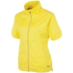 Sunice Golf Brittany Short Sleeve Wind Jacket Mellow Yellow