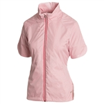 Sunice Golf Brittany Short Sleeve Wind Jacket - Blossom/Bright Rose