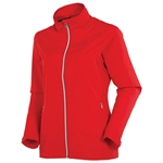 Sunice Belmont X20 Water Repellent Wind Jacket - Scarlet Flame