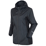 Sunice Blair Wind Jacket w/ Hood - Black/Charcoal