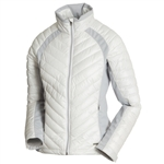 Sunice Cristina Thermal 3M Featherless Jacket - White/Oyster