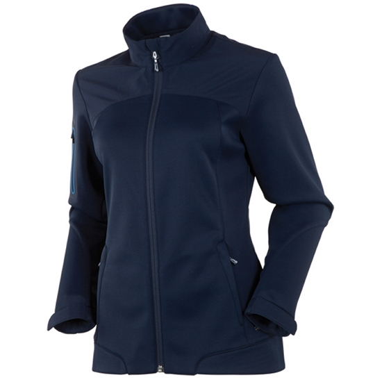 Sunice Bianca Full Zip Stretch Jacket - Midnight