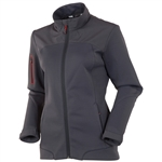 Sunice Bianca Full Zip Stretch Jacket - Charcoal/Real Red