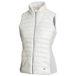Sunice Finley Thermal 3M Featherless Vest - Pure White