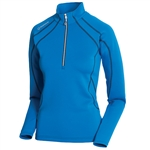 Sunice Megan Lightweight Thermal Stretch Pullover Vibrant Blue