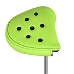 Just4Golf Mallet Putter Headcover - Lime/Black