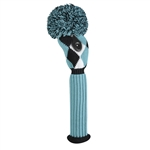 Just4Golf Fairway Headcover - Turquoise Diamond