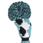 Just4Golf Sparkle Turquoise Diamond Fairway Headcover