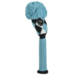 Just4Golf Turquoise Diamond Hybrid Headcover