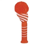 Just4Golf Driver Orange Diagonal Headcover