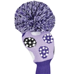 Just4Golf Sparkle Purple Dot Driver Headcover