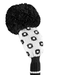 Just4Golf Luxe Hybrid Headcover - Sparkle Black/White