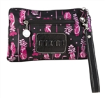 Sydney Love Cosmetic Bag with Tee Holder - Fuchsia Golf Bag