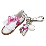 Sydney Love Pink Golf Shoe Keychain
