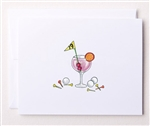 Bloom Design Note Cards - 19th Hole | Golf4Her