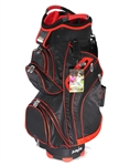 Molhimawk Black/Red Cart Bag