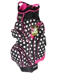Molhimawk Pink Polka Dot Cart Bag