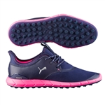 Puma IGNITE Spikeless Sport Golf Shoe - Peacoat/Beetroot