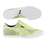 Puma Monolite Cat Woven Golf Shoe - Sunny Lime